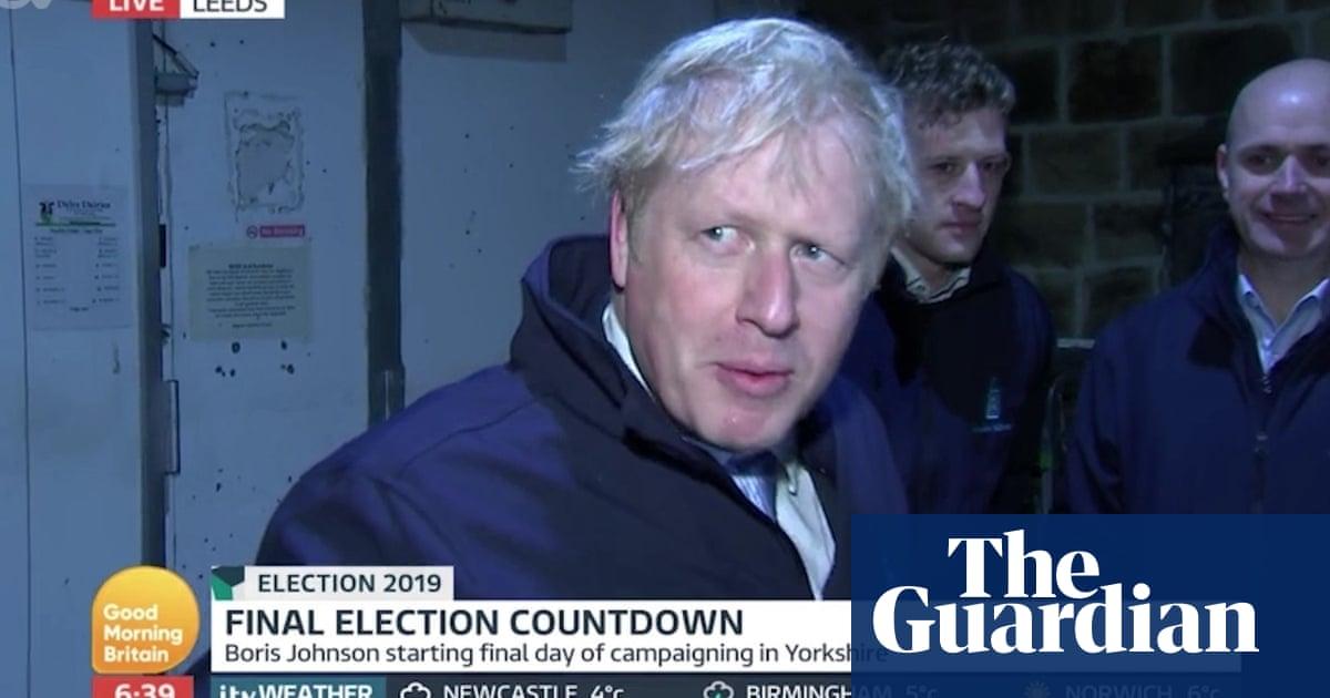 Boris Johnson 'hides in a fridge' to avoid Piers Morgan interview