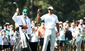 Tiger Woods feels optimistic about his chances at Augusta but does not believe there is one clear-cut favourite.