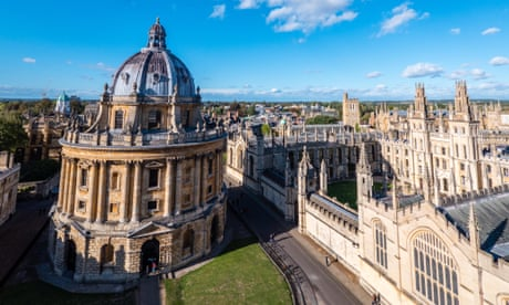'This isn't an outdated ivory tower': how Oxford university leapfrogged its rivals