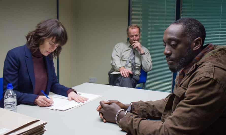 Headey with her Game of Thrones co-star Iain Glen and Ivanno Jeremiah in The Flood.