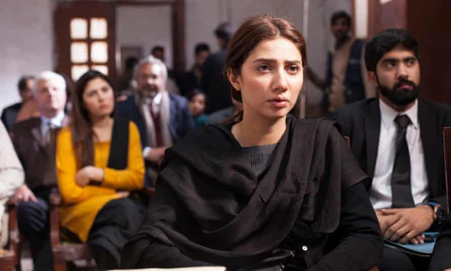 Mahira Khan as Sara in Verna (Or Else)