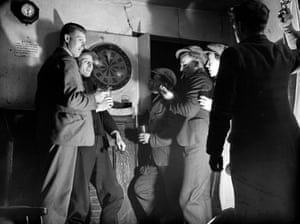 Darts Game1942: A group of men playing darts in a pub. (Photo by Express/Express/Getty Images)