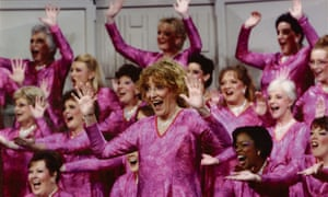 Jenny Lawson with Surrey Harmony at the Sweet Adelines international competition in Nashville, where they achieved 15th place in the world – the highest placement for a UK chorus