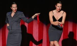 Ursula Martinez performs at Adelaide cabaret festival in 2007.