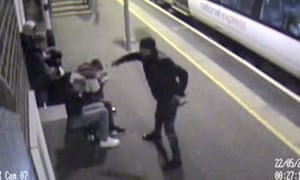 Alexander Bassey, 17, spraying five people with acid in an unprovoked attack at Ockendon station in Essex in May 2016