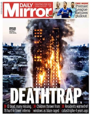 The Daily Mirror, UK