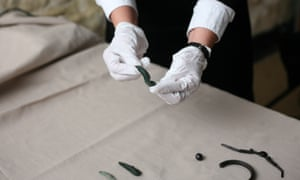 The objects uncovered at Wroxeter
