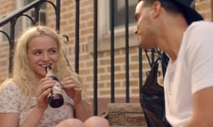 'In many ways she's the bad guy' … Morgan Saylor with Brian Marc in White Girl.