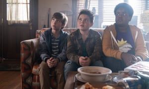 Jacob Tremblay, Brady Noon and Keith L. Williams in Good Boys
