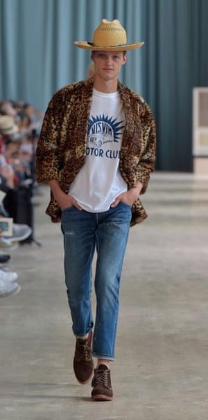 Marc Jacons at Project Visvim fashion show