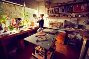 Marsh established her workshop in 2007 and is based at Cockpit Arts, an award-winning social enterprise and the UK's only business 'incubator' for craftspeople.