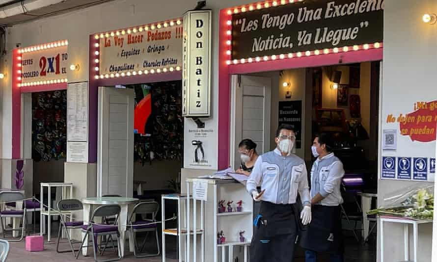 Baptiste Lormand's Surtidora Don Batiz restaurant in Polanquito