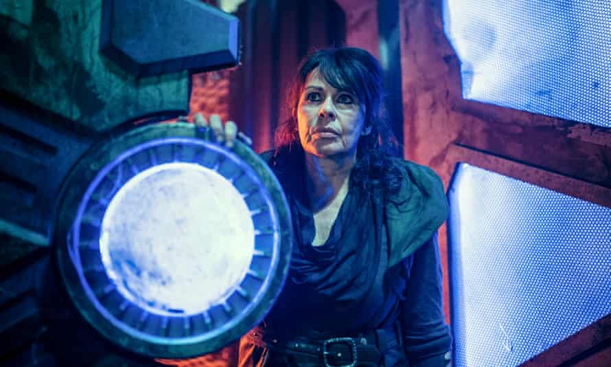 'The supporting cast don't get much time to shine' ... Ravio (Julie Graham).