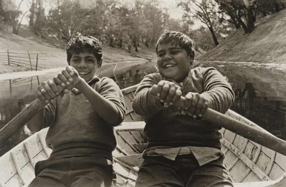 Cousins Ralph and Jim, Brewarrina, 1966.