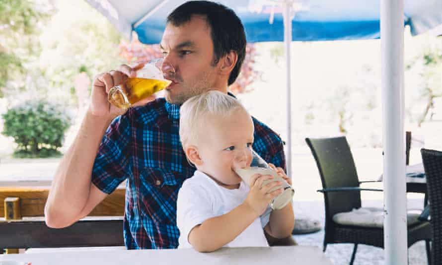 Each to their own … but should we expose our kids to 'drink-fuelled' events?