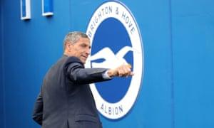 Chris Hughton was sacked as Brighton manager on Monday.