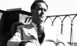 John Francis Lane on the terrace of his home in Trastevere, Rome. 'What I enjoy most about living in Italy is that you never know quite when theatre ends and reality begins,' he said