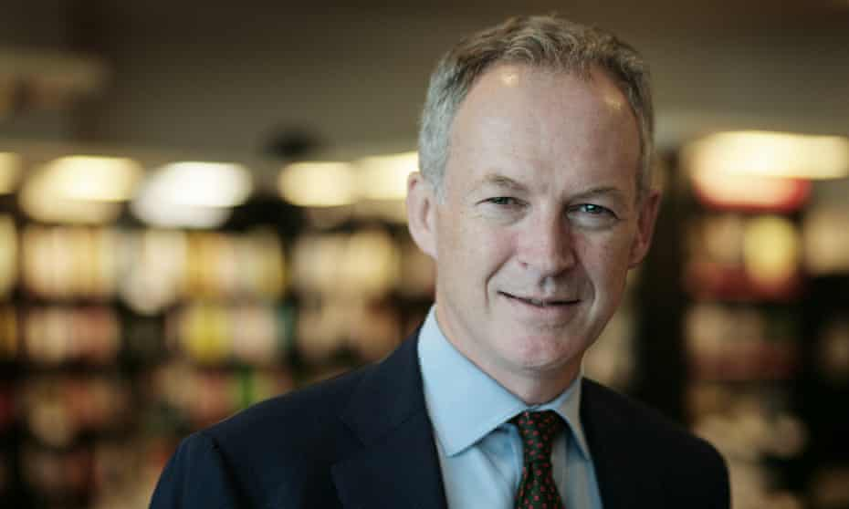 James Daunt, chief executive of Waterstones