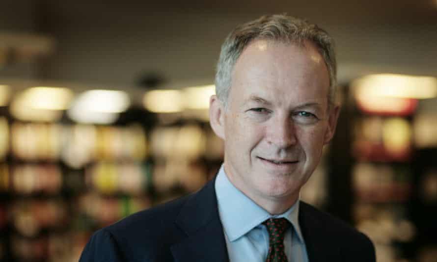 James Daunt Waterstones' chief executive