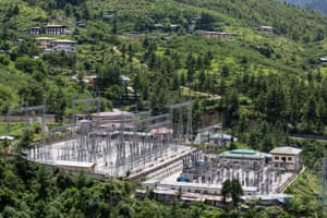 Thimphu's electric switching station