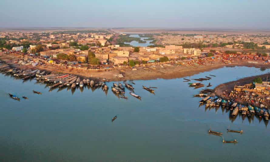 Mopti in central Mali, which has been filled with villagers displaced by the insurgency.