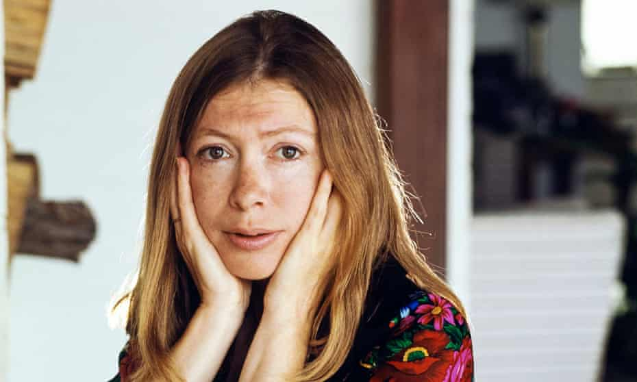 'Nervous anxiety electrifies her writing': Joan Didion at home in Malibu, California, in 1972