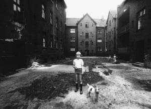 A Boy with a dog, Ruda Śląska, 1978