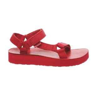 Hiking sandals, £69.99, by Teva, from office.co.uk.