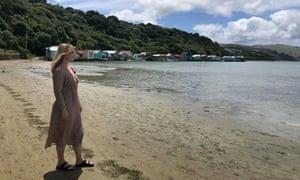 Elle Hunt at the Pauatahanui Inlet near Paremata, Wellington, New Zealand