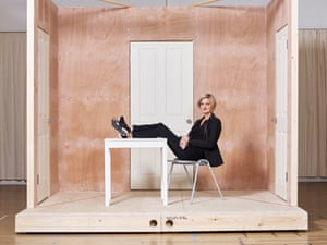 Artistic director Marianne Elliott is photographed during rehearsals her forthcoming play