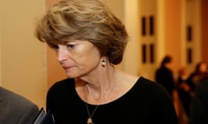 Senator Lisa Murkowski, Republican of Alaska, called the future of Roe v Wade a 'significant factor', in the confirmation of a new justice but not the only one.