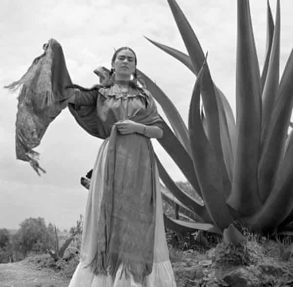 Frida Kahlo by Toni Frissell in 1937.