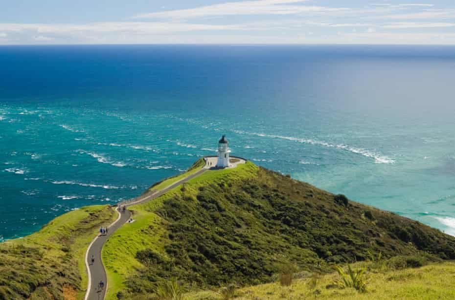 Cape Reinga, the northernmost point in New Zealand.