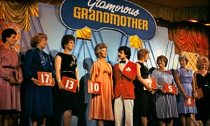 A 'glamorous granny' contest in 1982.