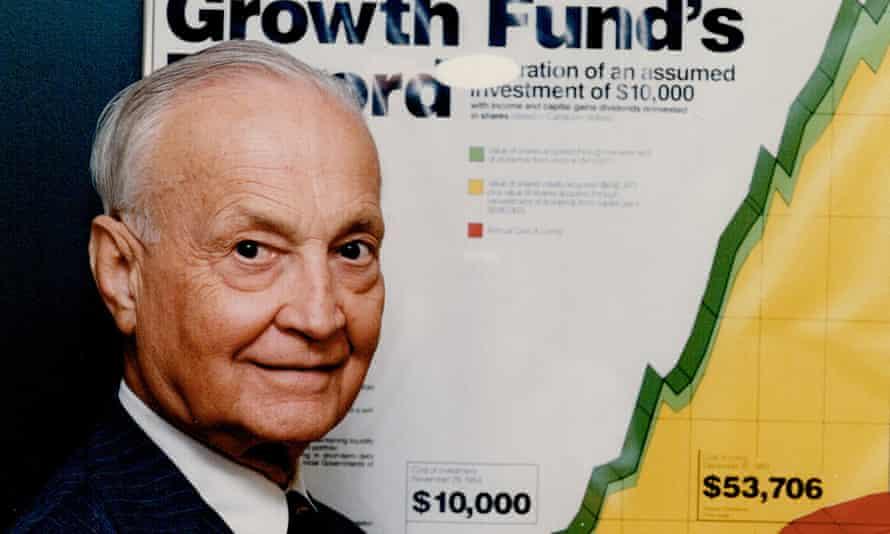 John Templeton, the ultra-conservative US billionaire financier whose foundations gave more than $3m to three UK thinktanks.