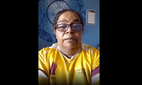 Barkandji woman Monica Kerwin made an emotional plea for additional help for Wilcannia after the Covid outbreak.