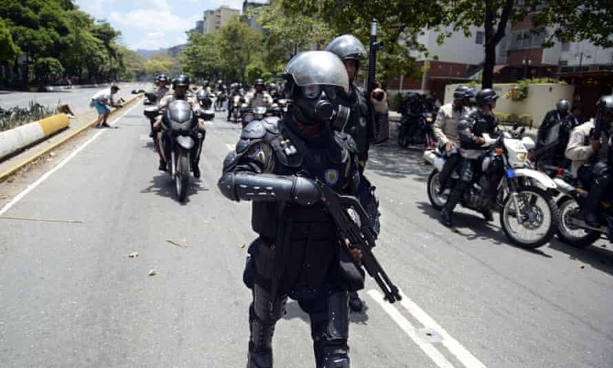 Venezuela police