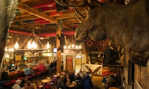 Creature comforts: pull up a chair and order a beer in the Red Dog Saloon.