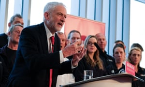 Labour leader Jeremy Corbyn delivers a speech to members of the media where he outlined Labour's approach to Brexit at the OE Electrics manufacturing factory in Wakefield.