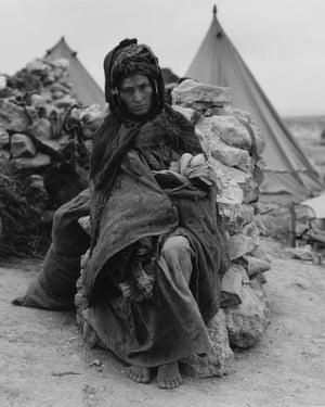 Algerian Refugee Mother, 1958