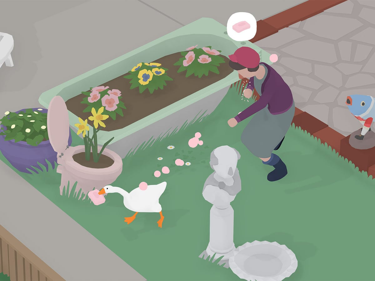 Poultry In Motion Untitled Goose Game S Creators On How They Laid The Golden Egg Games The Guardian