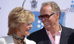 Peter Fonda with his sister, Jane, in 2013.