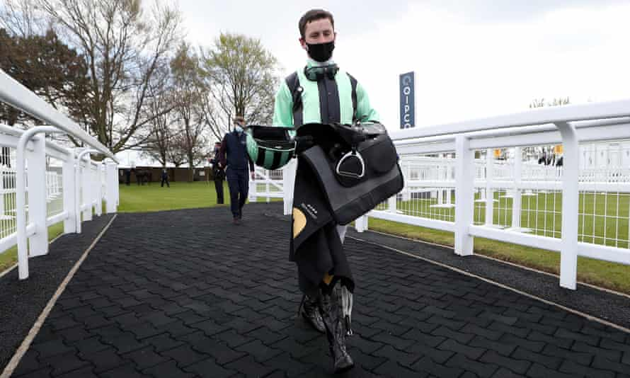 Oisin Murphy, pictured during 1,000 Guineas day on Sunday.