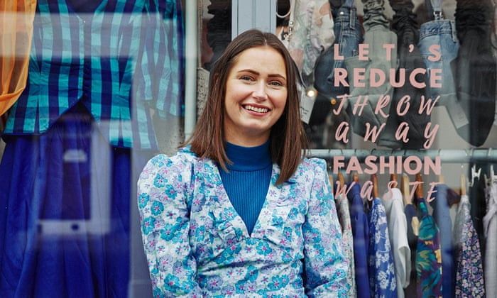 'You don't know what story an item tells': why I'm buying and selling secondhand clothes
