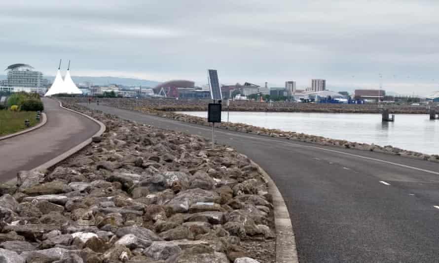Cardiff barrage.