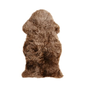Throw this over the back of a chair Skold sheepskin rug, £50, ikea.com