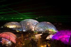 The Festival of Light and Sound at the Eden Project