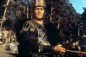 کریستوفر پلامر در سقوط امپراتوری روم