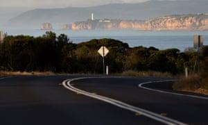 A road in Victoria