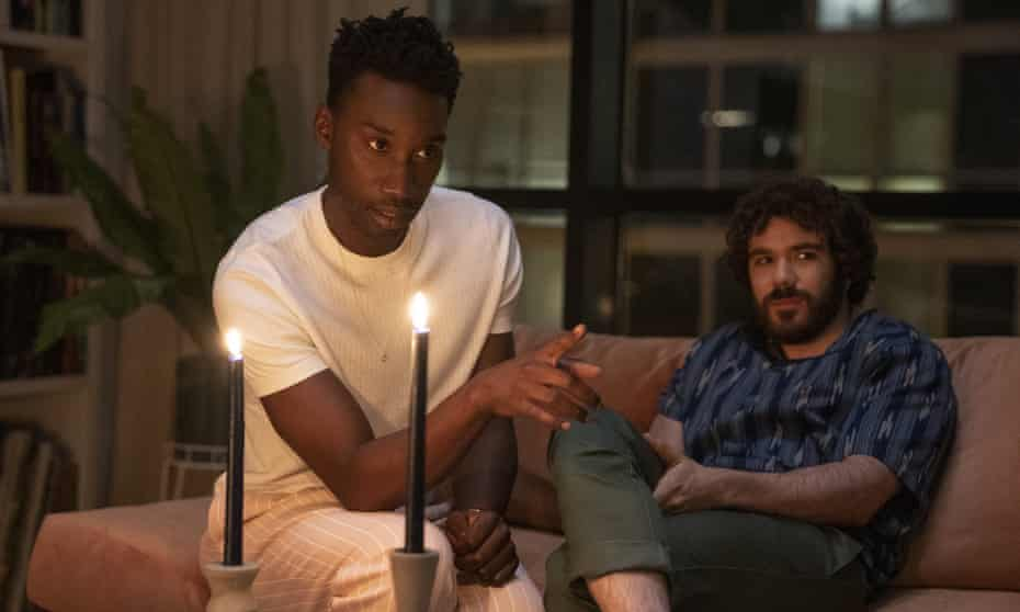 Slick, macabre and very sophisticated … Nathan Stewart-Jarrett and Kyle Kaminsky in Candyman.